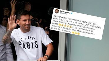 Zbigniew Boniek la plecarea lui Messi: