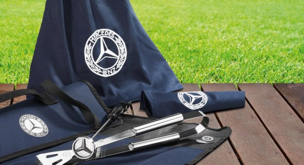 Zestaw do grilla Mercedes