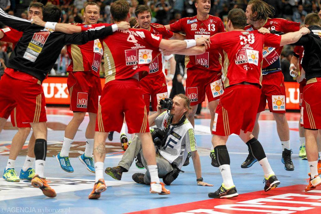 Niemcy, Kolonia. Final Four Velux EHF Ligi Mistrzów. THW Kiel - MVM Veszprem 28:31