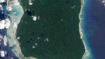 Sentinel Północny, zdjęcie satelitarne z 2009 r.