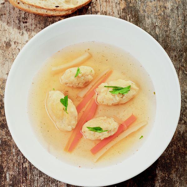 Kluski grysikowe - dodatek do zup lub drugiego dania