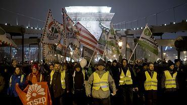 Grudniowe protesty na Węgrzech