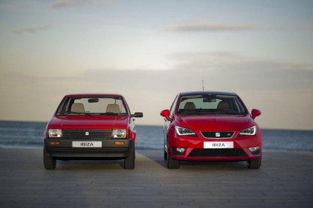 Seat Ibiza - pierwsza i czwarta generacja