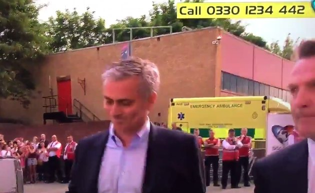 Jose Mourinho na Old Trafford