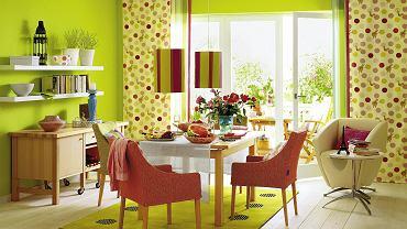 Kolorowe ściany grają w serialach. W domach się nie sprawdzają