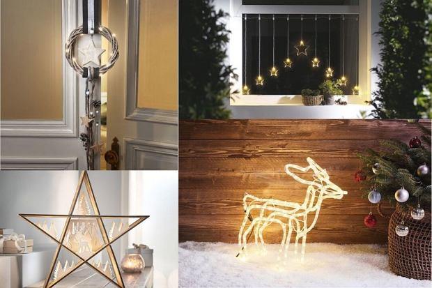 Bożonarodzeniowe dekoracje z podświetleniem. Te produkty z Lidla są świetne
