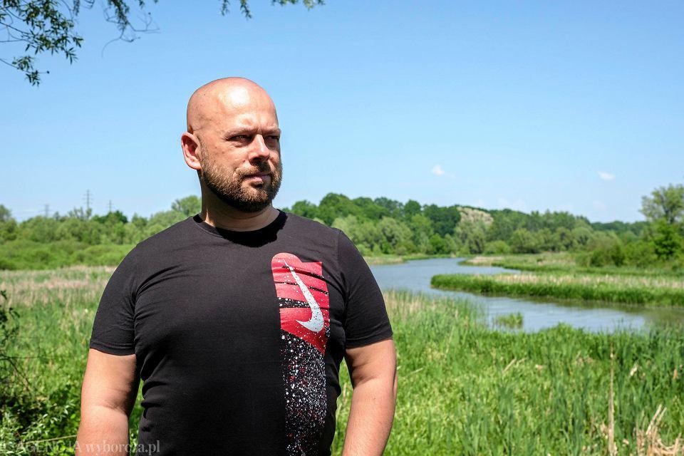 Maciej Kunysz ze stowarzyszenia EKOSKOP