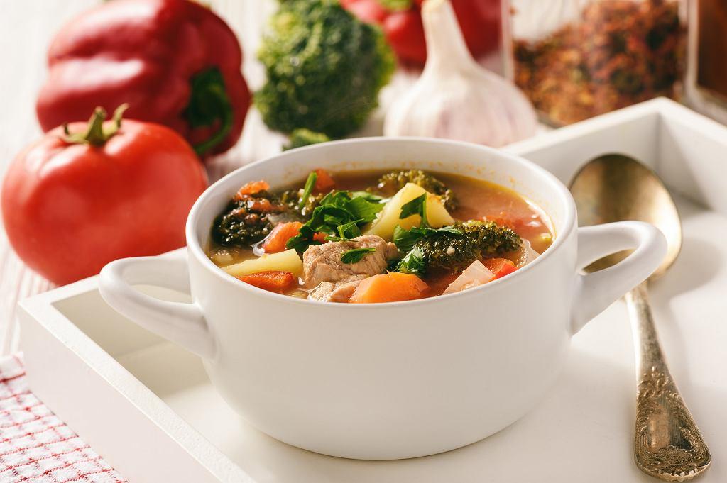 Węgierska zupa gulaszowa bogracz
