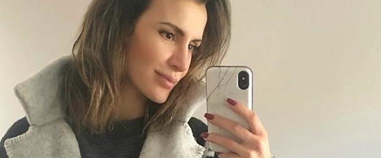 Sara Boruc pochwaliła się bardzo dużym brzuszkiem na Instagramie. Wiemy,  jak radzi sobie z rozstępami
