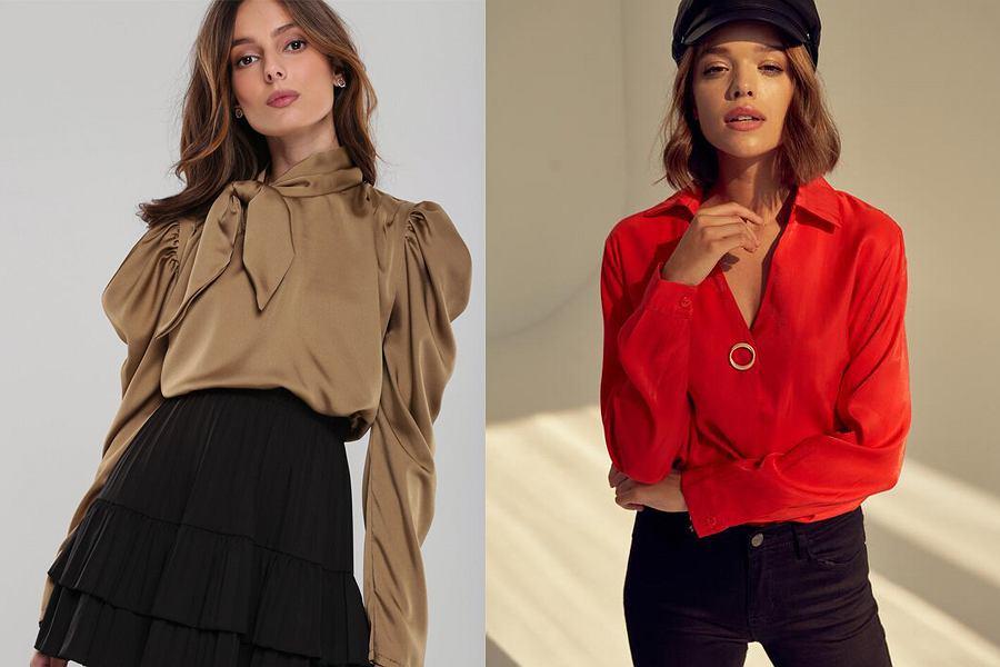 Zdobione bluzki damskie