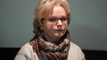 Grażyna Juszczyk na sali wrocławskiego sądu