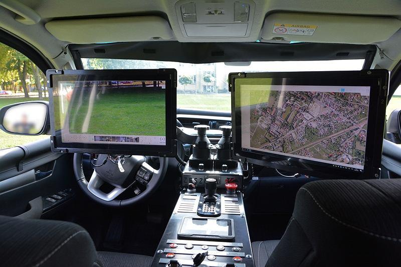 Nowe pojazdy Straży Granicznej