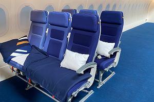 W samolocie wyśpisz się jak u siebie? Lufthansa testuje nowe rozwiązanie