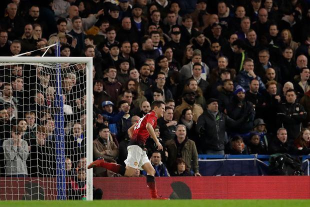 3ae20a1c5 Manchester United pokonał Chelsea w Pucharze Anglii Piłka nożna ...