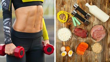 Osoby intensywnie trenujące powinny postawić na dietę wysokobiałkową.