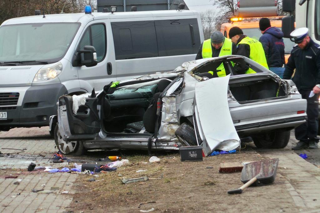 Śmiertelny wypadek pod Warszawą