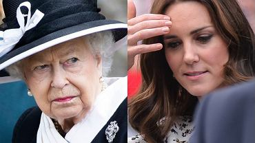 Księżna Kate i Elżbieta II