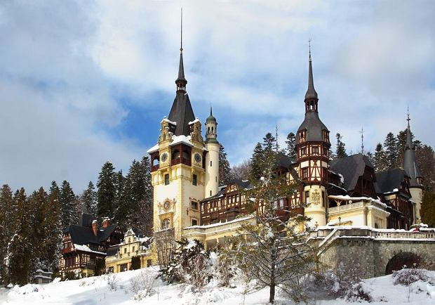 Zamek Peles. Sinaia (Rumunia) / fot. Shutterstock