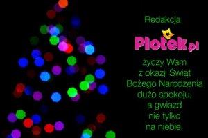 Plotek.pl życzy wesołych Świąt