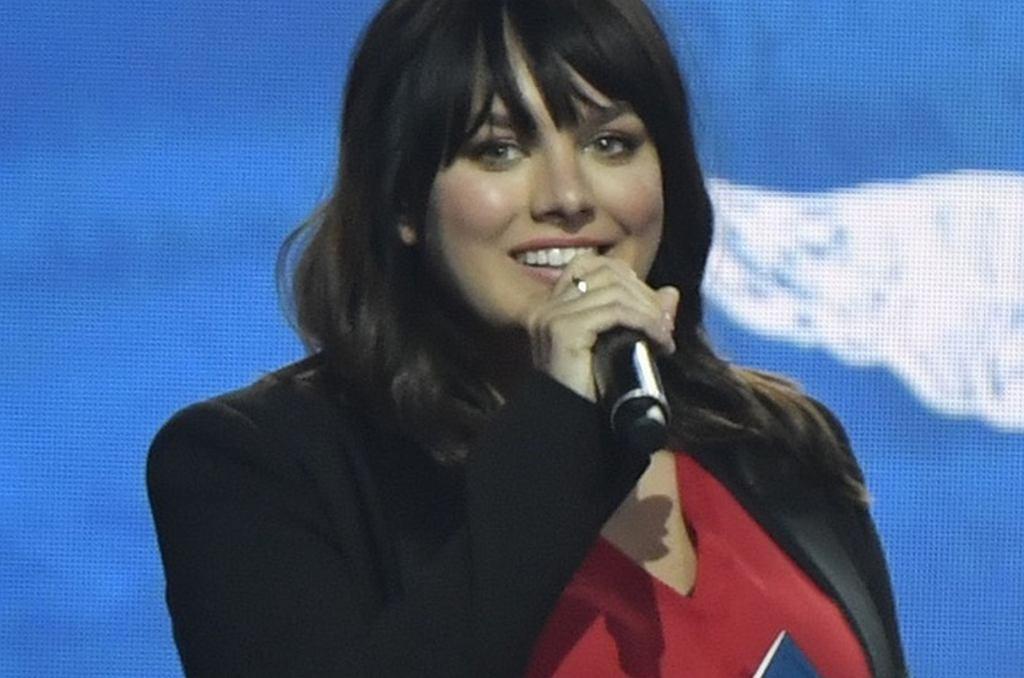 Ewa Farna na rozdaniu nagród Andel