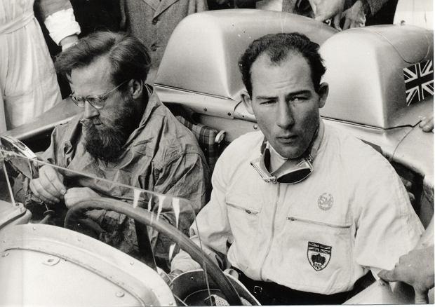 Denis Jenkins i sir Stirling Moss