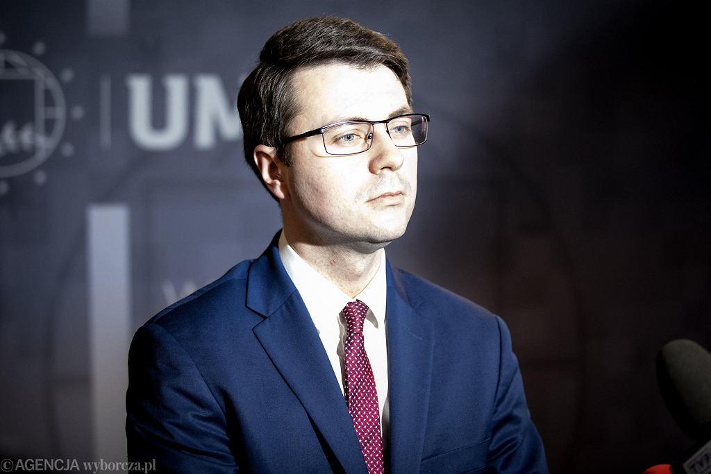 Lublin. Wiceminister nauki i szkolnictwa wyższego Piotr Müller z wizytą na UMCS