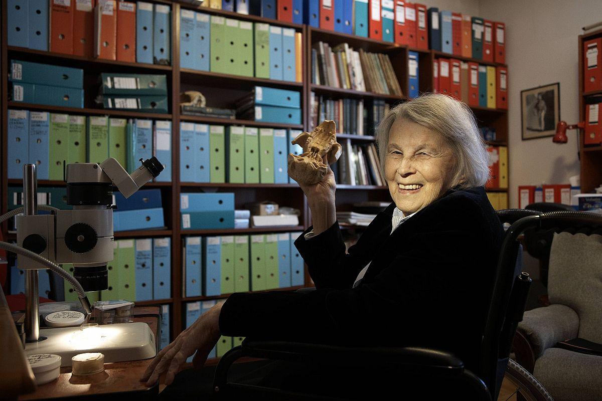 Profesor Zofia Kielan-Jaworowska (fot. Michał Mutor / Agencja Gazeta)