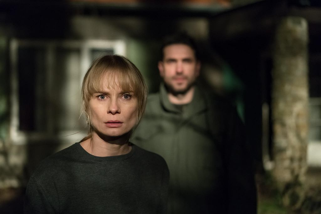 Magdalena Cielecka i Marcin Dorociński w filmie 'Ciemno, prawie noc'