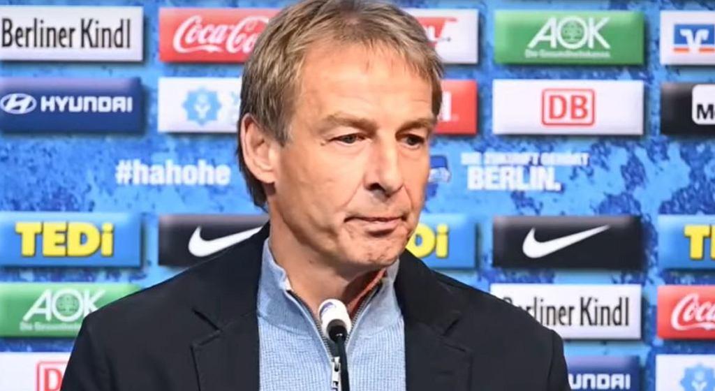 Juergen Klinsmann stracił licencję tuż przed meczem z Bayernem