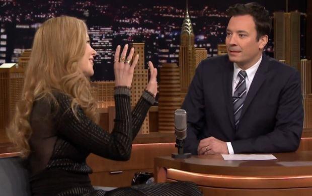 Nicole Kidman i Jimmy Fallon