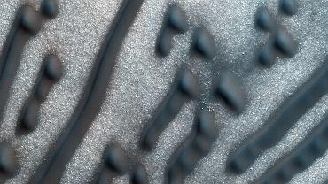 """Marsjańskie wydmy z """"zakodowaną wiadomością"""""""