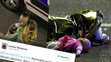 Prawicowy publicysta Łukasz Warzecha w skandaliczny sposób skomentował na Twitterze zamach w Nicei