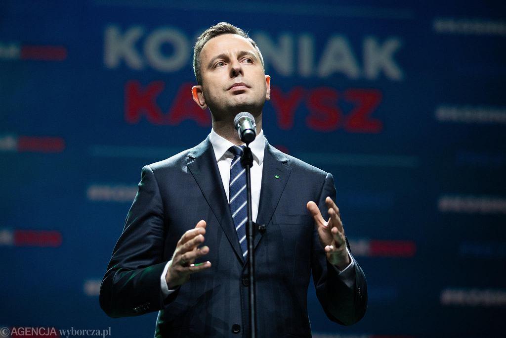 Władysław Kosiniak-Kamysz podczas opłatka PSL w Lublinie