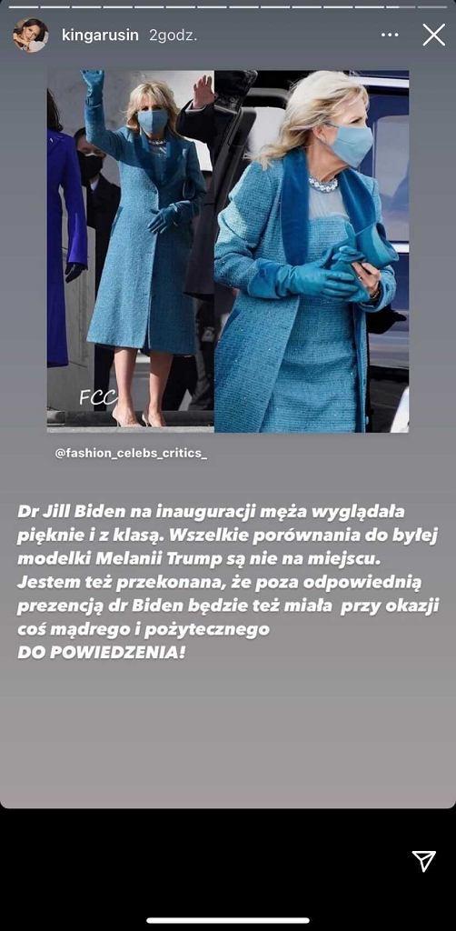 Kinga Rusin o Jill Biden