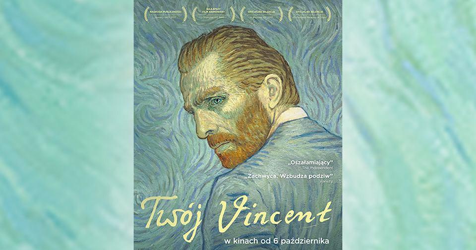 Plakat filmu 'Twój Vincent'