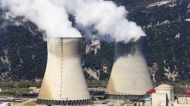 La France, une centrale nucléaire.