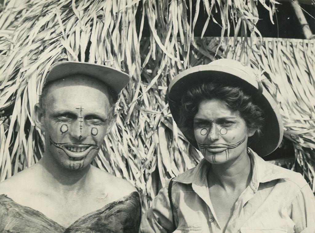 Tony Halik ze swoją pierwszą żoną, Pierrette Halik (fot. archiwum rodziny Halików)