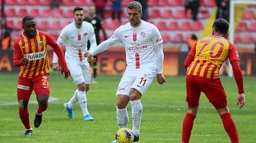 Lukas Podolski mówi o swojej przyszłości.
