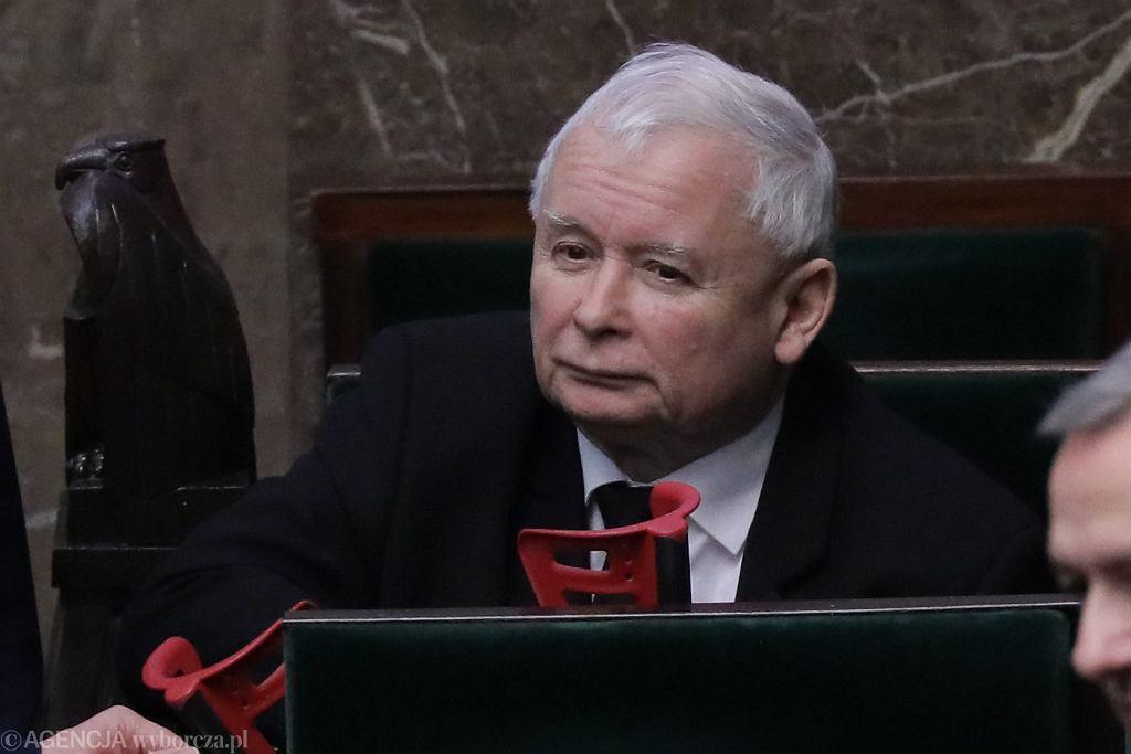 Jarosław Kaczyński - trzeci dzień drugiego posiedzenia Sejmu X kadencji