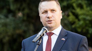Minister Przemysław Czarnek.