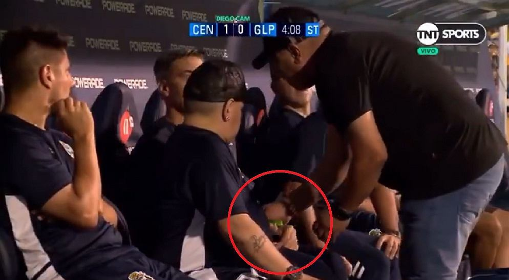 Diego Maradona dostał tabletki