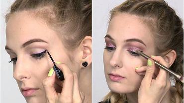 Jak zrobić makijaż z brokatem?
