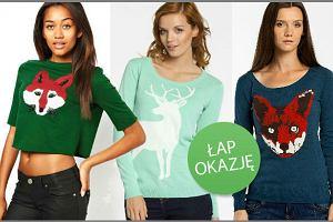 Swetry i bluzy z nadrukami zwierząt do 150 zł