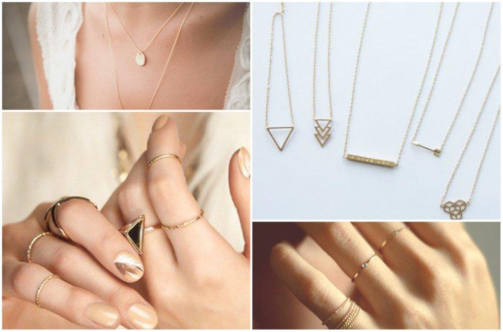 Nie przepych a minimalizm. Delikatna biżuteria