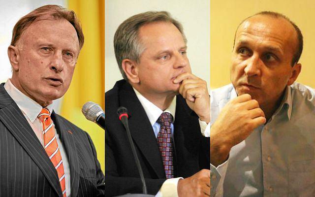 Marek Goliszewski, Krzysztof Kalicki, Kazimierz Marcinkiewicz