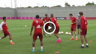 Piłkarze Bayernu Monachium grają w dziada