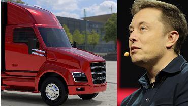 Elon Musk chce konkurować z ciężarówkami produkowanymi przez Nikola Motors
