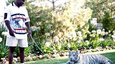 Mike Tyson z tygrysem