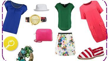 Kolorowe stylizacje na lato