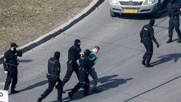 W sobotę białoruskie służby aresztowały co najmniej 245 osób